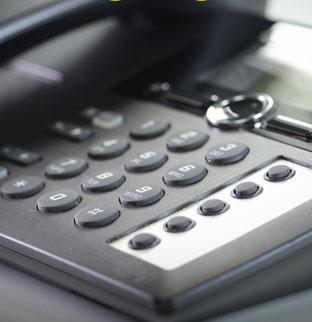 Telefon im Büro